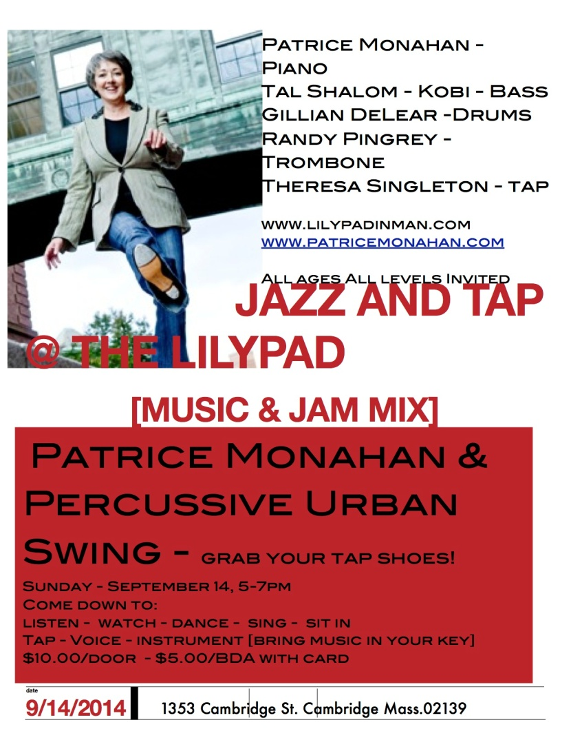tap jam PU-S flyer edit lily Spt 14