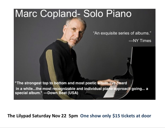 Marc Copland poster