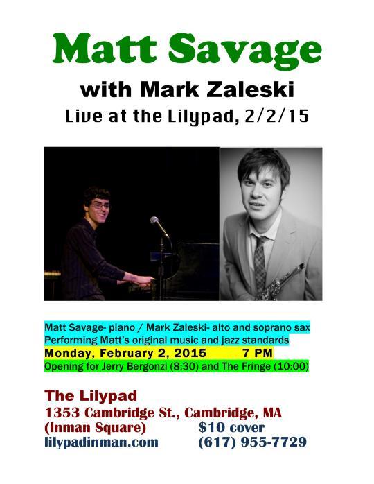 Lilypad 2015 Flyer