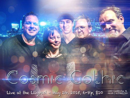 Cosmic Gothic lilypad May 24