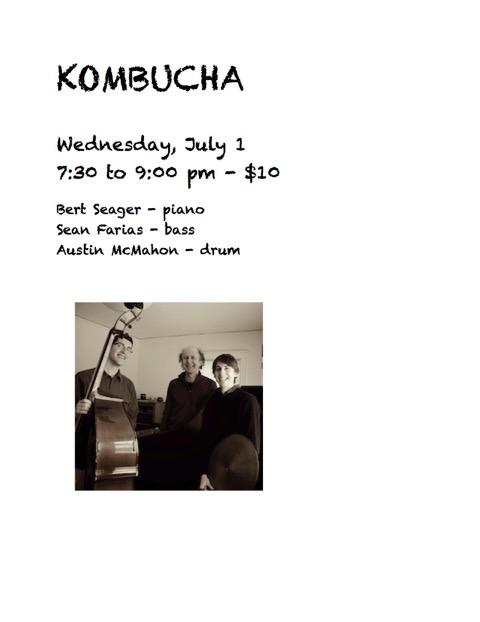 kombucha - july 1